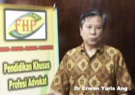 Dr. Erwan Yuris Ang