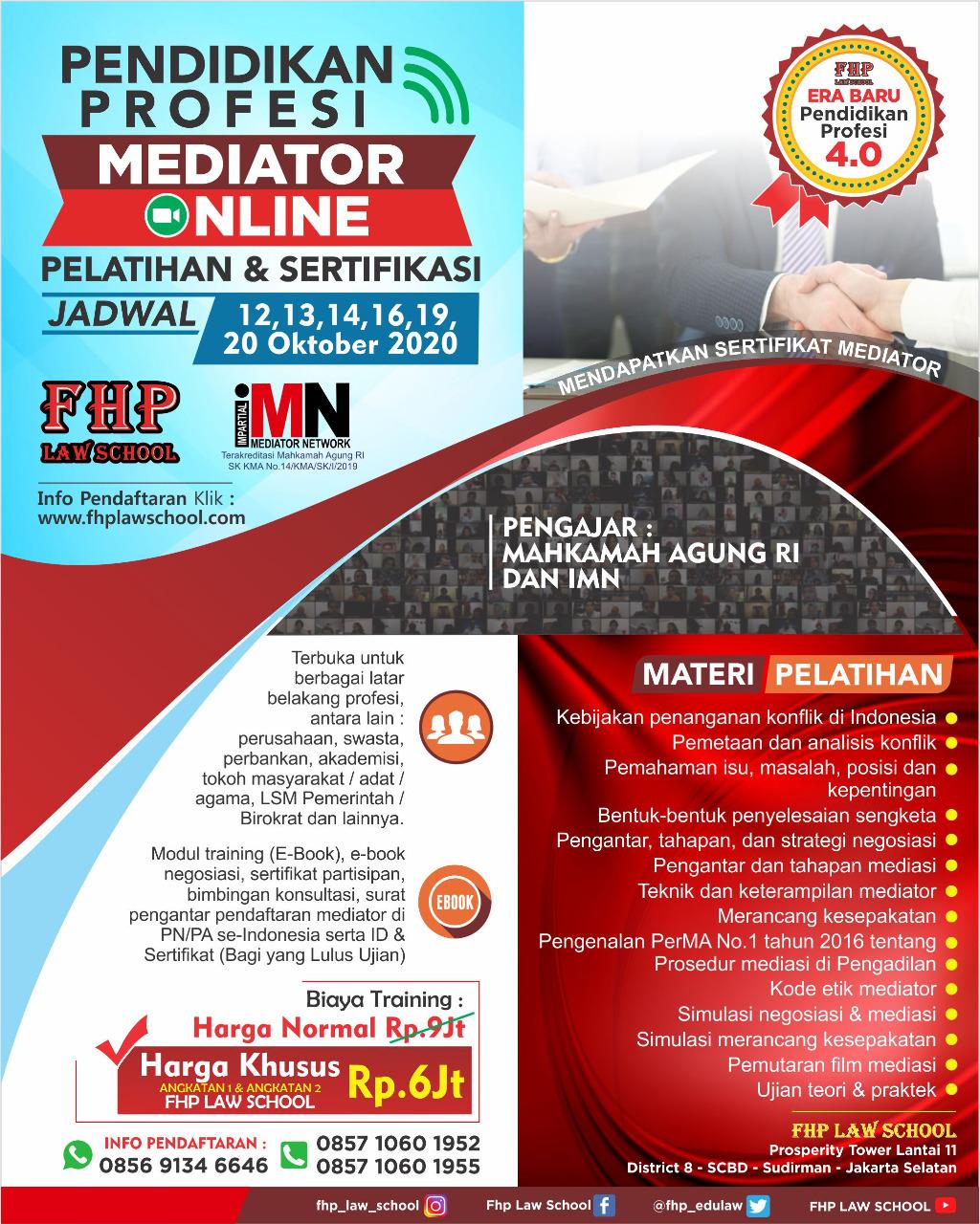 FHP-IMN-Pelatihan-Mediator-Oktober-2020